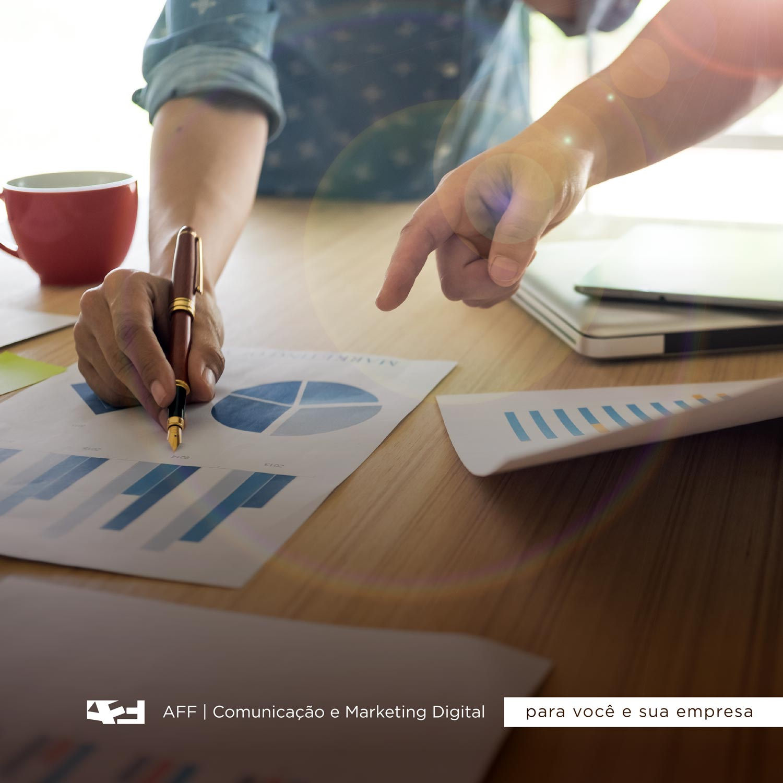Imagem ilustrativa, simbolizando o marketing e o setor de vendas