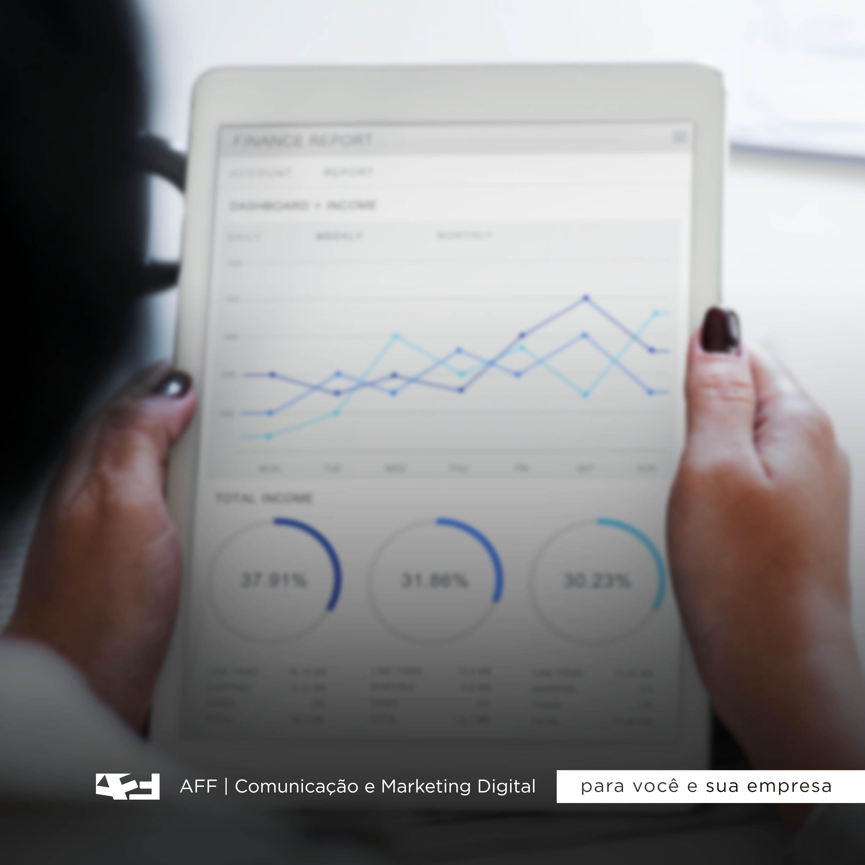 imagem meramente ilustrativa, simbolizando o data driven marketing
